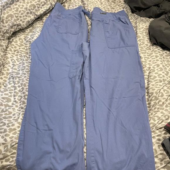 Koi scrub bottoms two pair for 20.00
